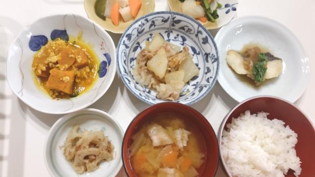 冬のお魚・お野菜を楽しむメニュー